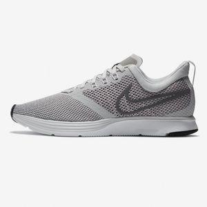 Nike Womens Zoom Strike Running Shoes in grey